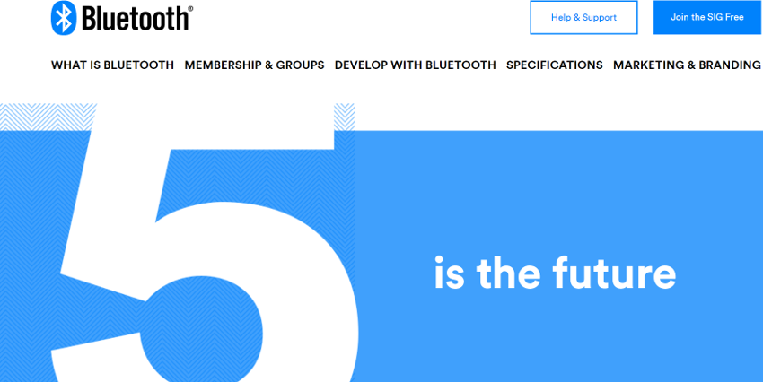 IoT用途で使用拡大を目標に、Bluetooth5の提供開始
