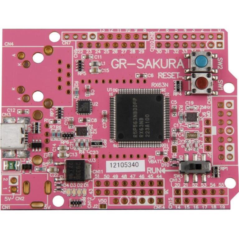 アールエスコンポーネンツ、ルネサスの開発ボード「がじぇっとるねさすSAKURA II」の販売を開始
