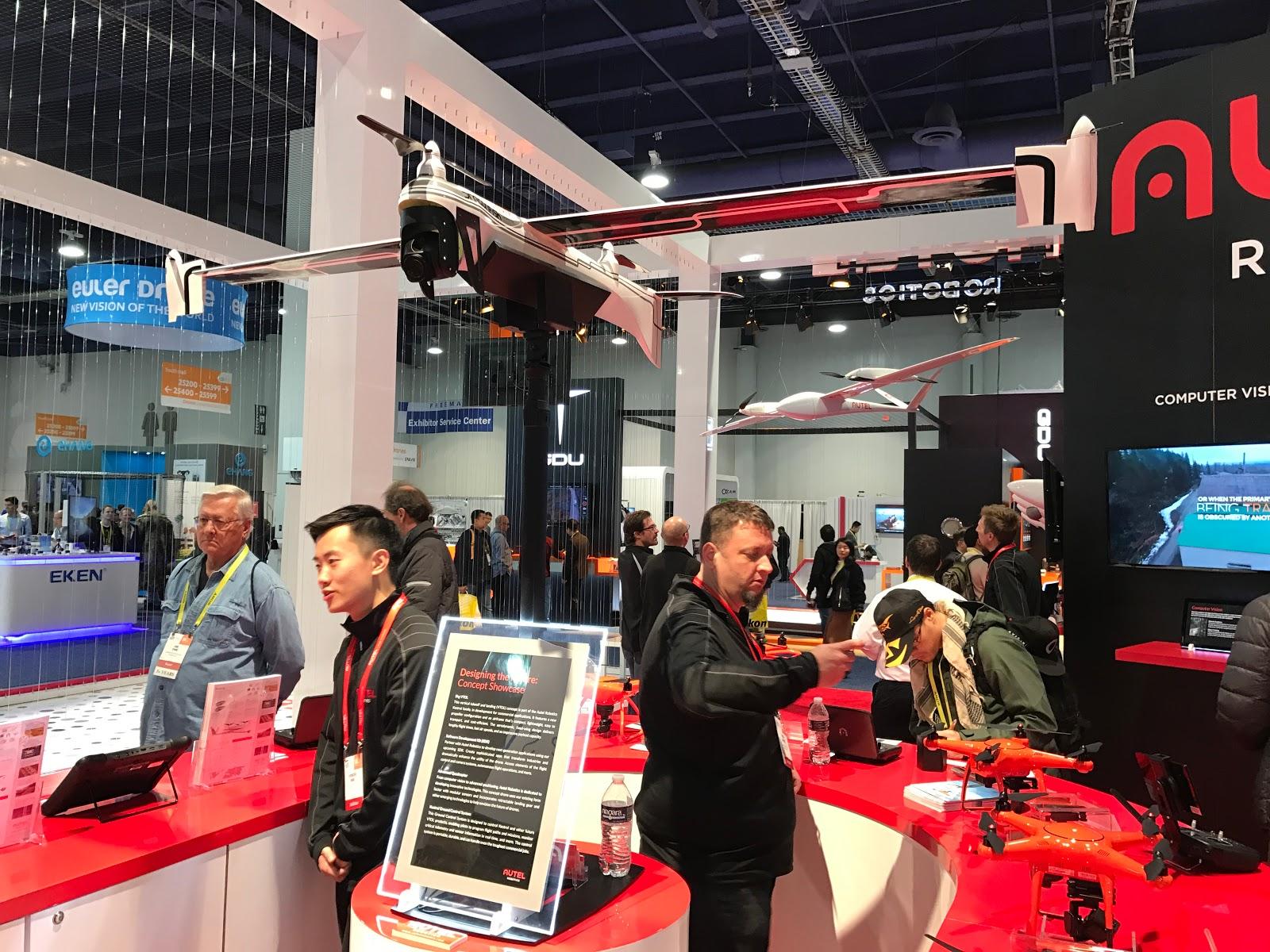 CES2017 drone