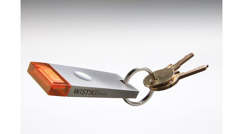 Wistikiと美貴本、探しモノ発見スマートアクセサリー「Wistiki by Starck voilà!」販売開始