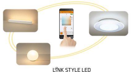 パナソニック、スマホで照明器具を一括コントロールできるBluetooth搭載LED照明「LINK STYLE LED」を発売