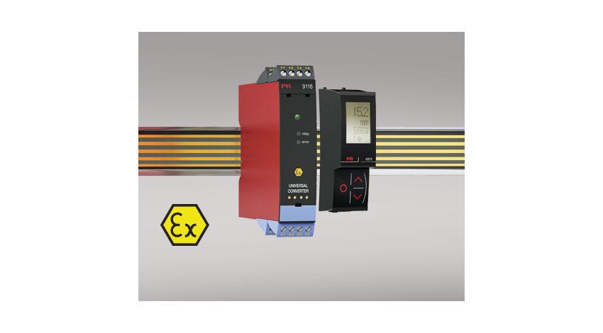 グローバル電子、Modbus接続対応の表示ユニットでプラントIoT化できる信号変換器「9116B」販売開始