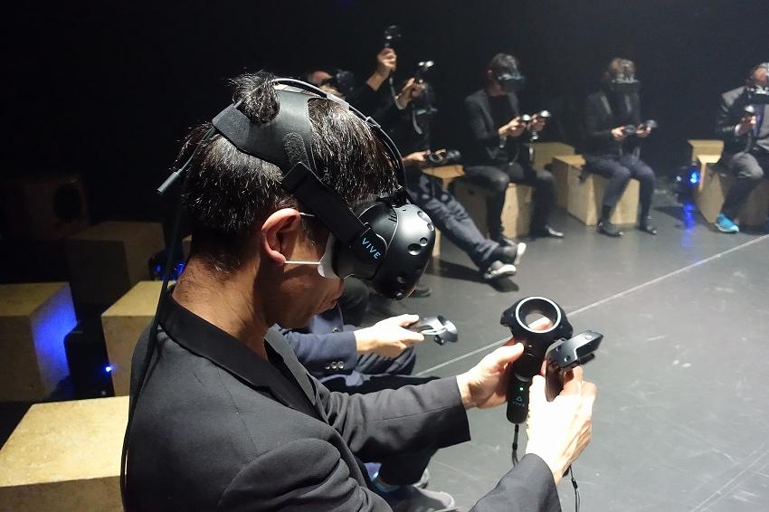 VRとミュージカルが融合したステージは鳥肌モノだった