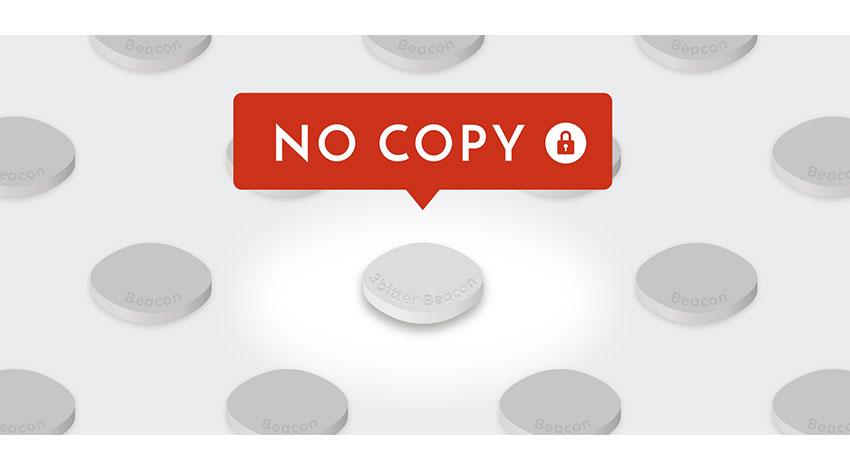 3bitter、コピー対策機能を付与したBeaconリリース