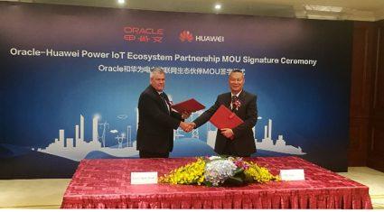 ファーウェイとオラクル、電力IoT分野におけるエコシステム・パートナーシップに合意
