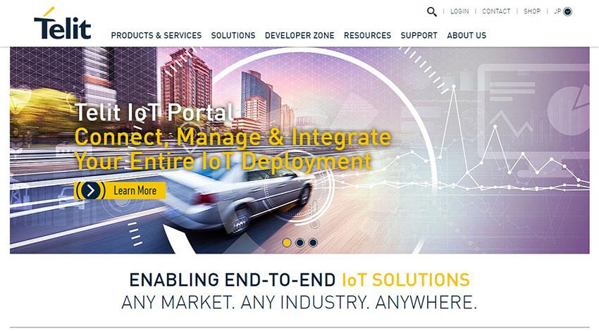 Telit、IIoTアーキテクチャ開発に向け横河電機と協業