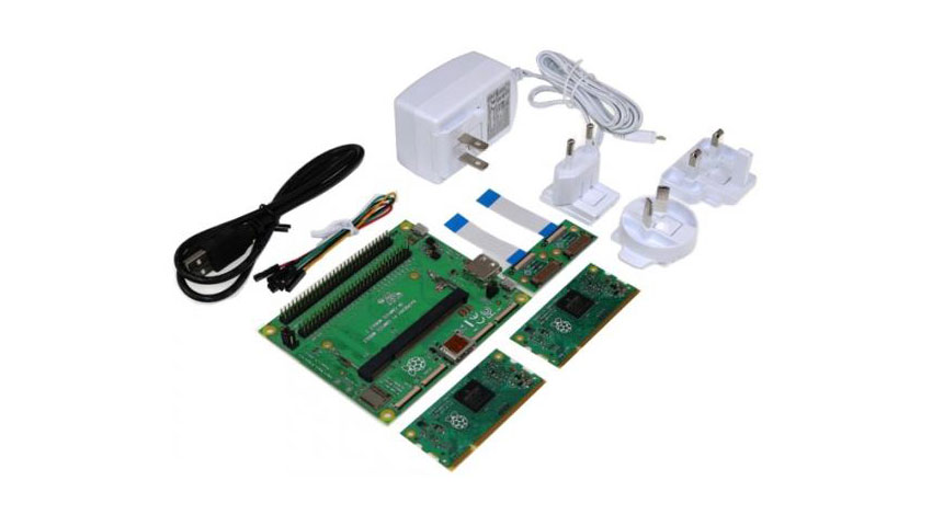 TechShare、組込み用Raspberry Pi Compute Module 3 開発キット国内出荷開始