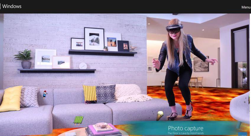 Microsoft、マイクロソフトホロレンズ用の観客視点カメラ技術を公開