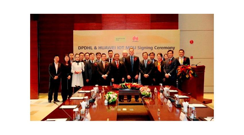 ファーウェイとドイツポストDHLがIoT 分野で提携、市場規模1.9 兆米ドルのコネクテッド・ロジスティクス市場に注力
