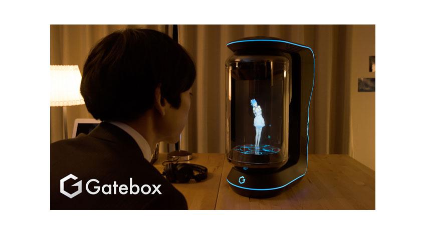 ウィンクルがLINEと資本業務提携、バーチャルホームロボット「Gatebox」の共同開発を開始