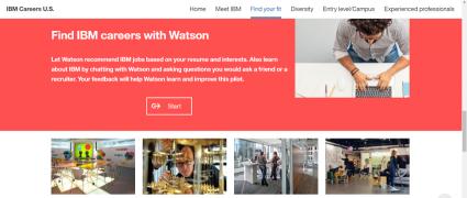 IBMワトソンが就職アドバイザーに