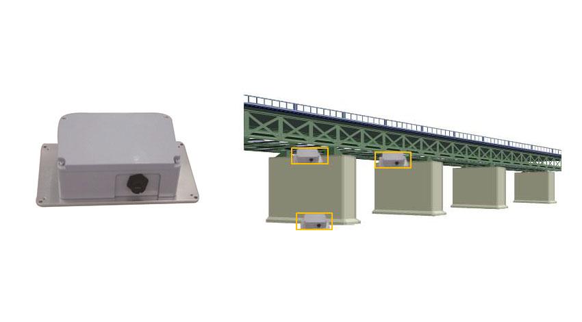 オムロン、地震による建物・橋梁の被害をIoTで監視する「3軸加速度計」発売