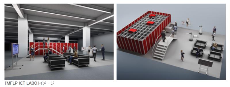 物流ICTに特化したショールーム「MFLP ICT LABO」 三井不動産ロジスティクスパーク船橋Ⅰに本年8月開設予定