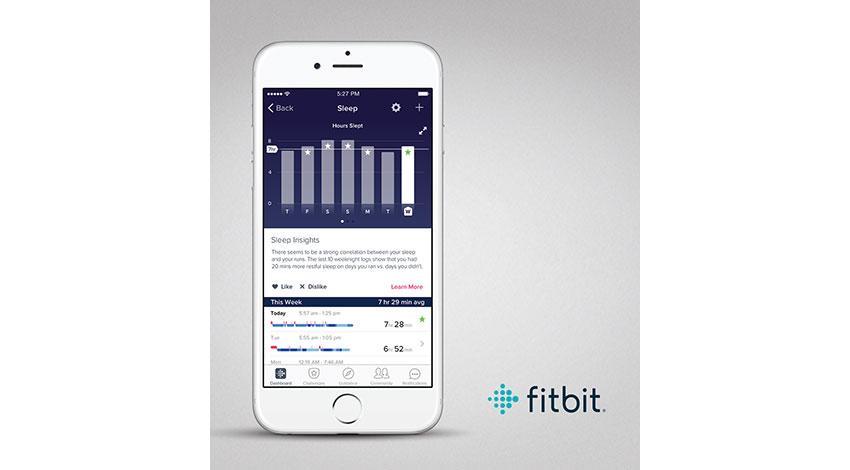 フィットビット、心拍数の継続記録機能を備えたスリムなフィットネスリストバンド「Fitbit Alta HR」と新たな自動睡眠機能を発表