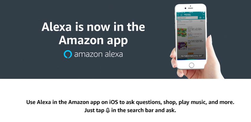米アマゾン、ショッピングアプリにAlexaを追加