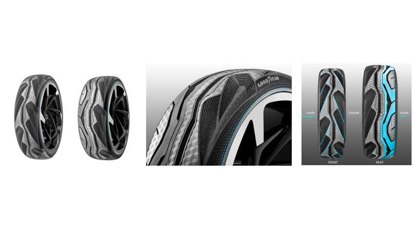グッドイヤー、自動運転向けコンセプトタイヤ3種を発表