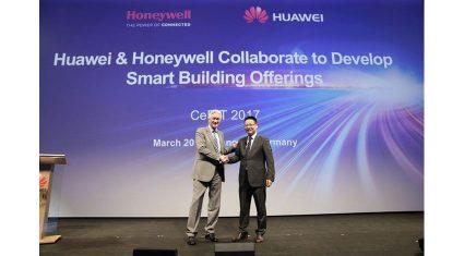 ファーウェイ、ハネウェルとスマート・ビルディング・ソリューションの開発に向けた協業を発表