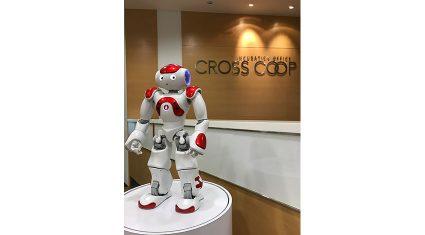 CROSSCOOP SINGAPORE、人型ロボット「NAO」による受付業務省力化の実証実験を開始