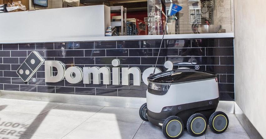 ドミノ・ピザ、欧州で自動運転デリバリーロボットの試運転を開始