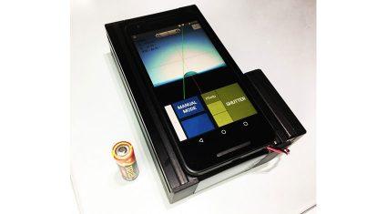 エキシマ、IoT対応の教育用携帯接触角計「Smart contact Mobile Entry」を発売