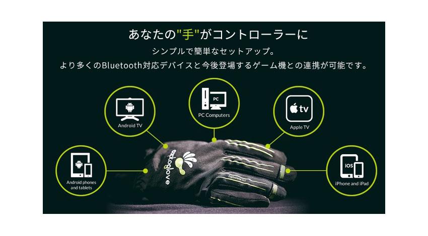 DISCOVER、指でゲームをコントロールできるCaptoGloveのウェアラブルグローブを発売