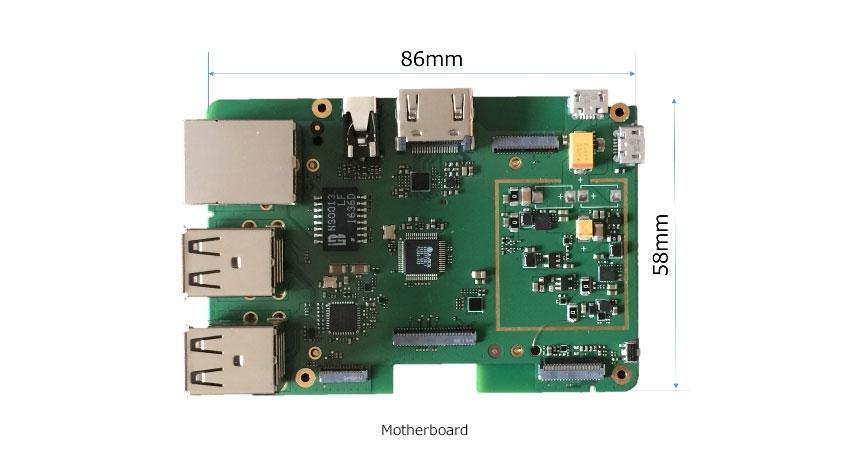 ジャスミー、4GLTE-Androidシングルボードコンピュータのサンプル提供開始