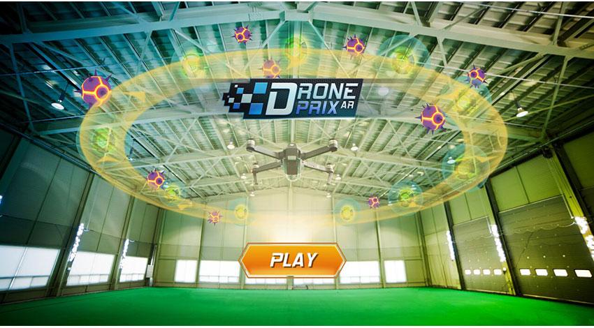 EdgyBee、DJIのドローンに対応したARゲームを発表