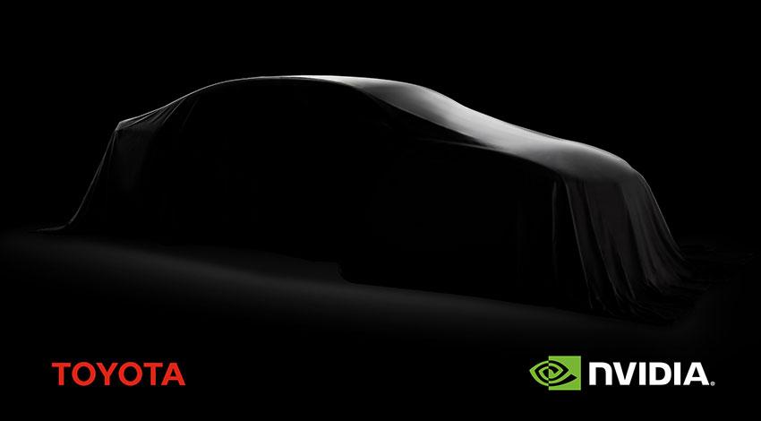 NVIDIAとトヨタ、自動運転車の市場導入加速に向けて協業