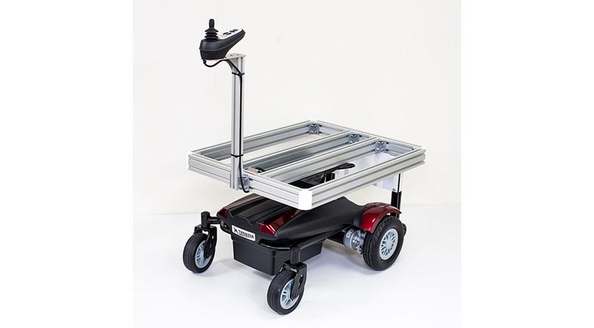 Doog、追従運搬ロボット「サウザー」のIoT対応、完全自動運行機能の開発を開始