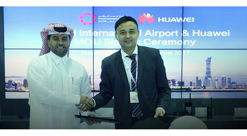 ファーウェイとハマド国際空港、スマート空港実現に向け、IoTと自律機械分野などを利用した経営課題と機会に取り組む戦略提携