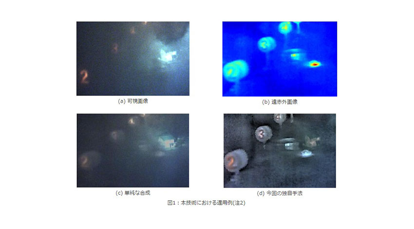 NECと東京工業大学、AIで悪条件下の視認性を向上する「マルチモーダル画像融合技術」を共同開発