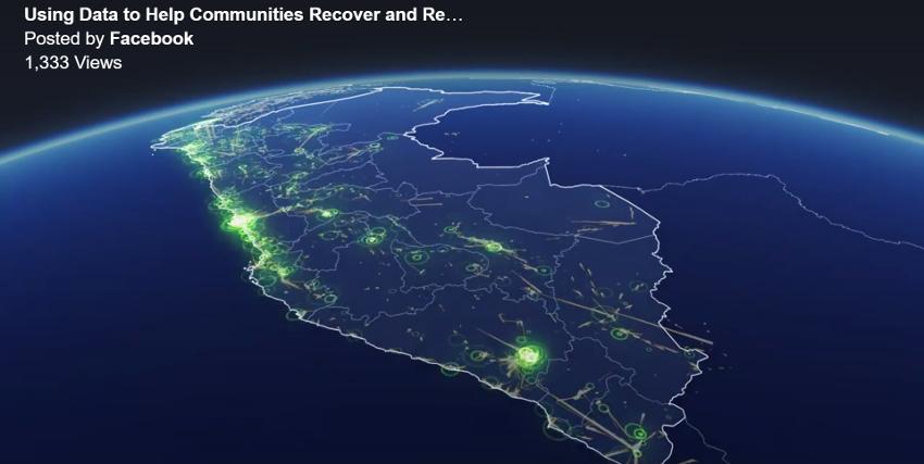 Facebook、災害対応や復興活動に使える地図を発表