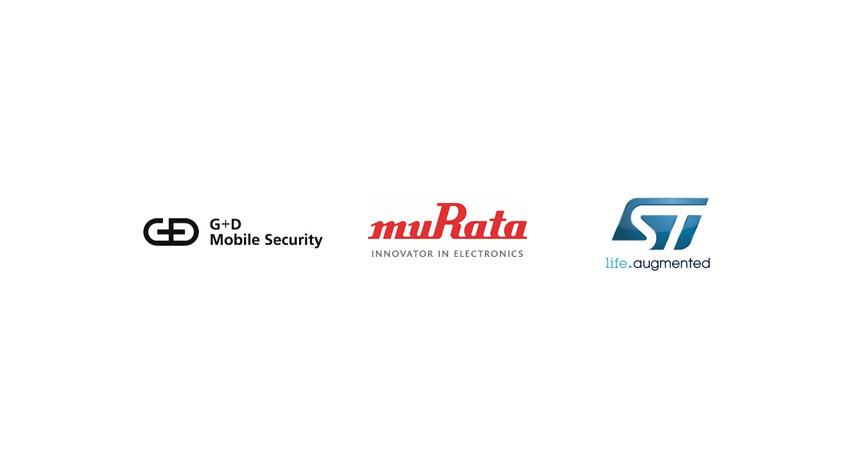G+D Mobile Security、村田製作所、STマイクロエレクトロニクス、IoT機器に柔軟で効率的なセキュリティ・ソリューションを提供