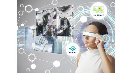 タグキャスト、タブレット・スマートグラスを使った工場見学システムに位置情報技術を提供