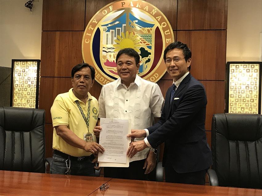 Mobility × IoT × FinTechベンチャーのGMS  フィリピン国パラニャーケ市と提携