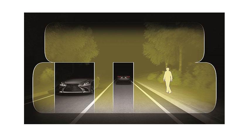 LEXUS、新型LS搭載の衝突回避支援と高度運転支援などの予防安全技術を公表
