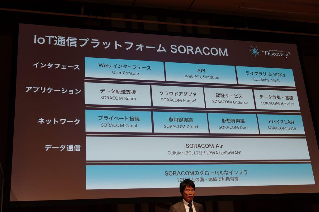 ソラコム Discovery2017