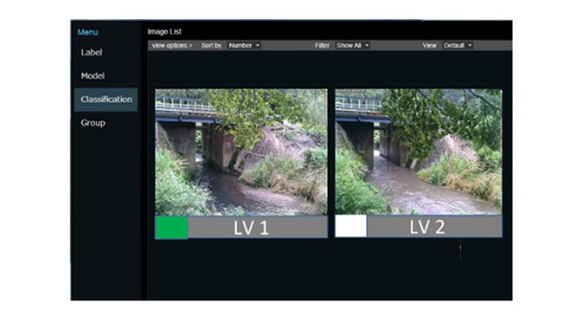 NECと茨城大学、AI活用で河川の氾濫レベルを画像から判断する「水害対策支援システム」の実証実験を実施
