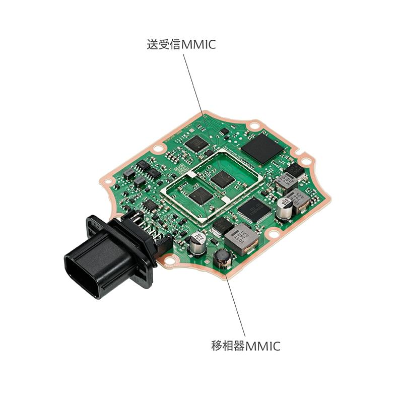 デンソー、24GHz帯の準ミリ波レーダーを開発