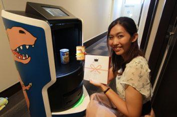 村田機械のルームサービスロボットが「変なホテル ラグーナテンボス」で稼働開始
