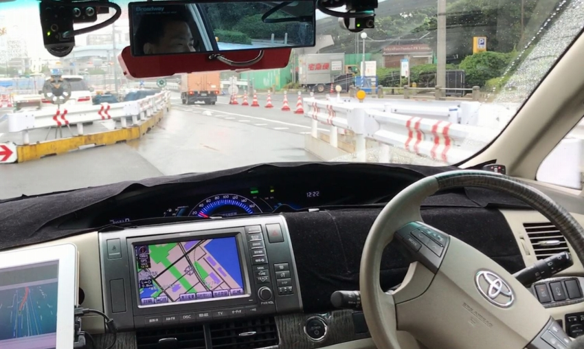 ZMP、2020年東京五輪に向け、お台場での公道実験の進捗を公開