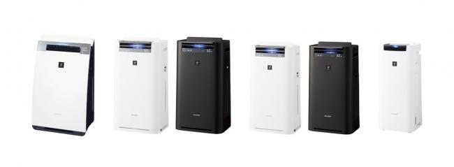 シャープ、AI搭載プラズマクラスター加湿空気清浄機を発売