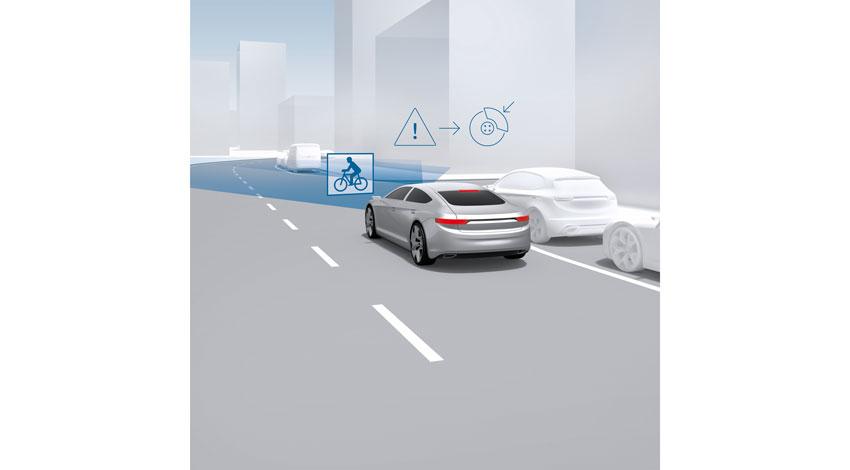 ボッシュ、まばたき2回よりも短い時間で緊急ブレーキが作動するドライバーアシスタントシステムを開発