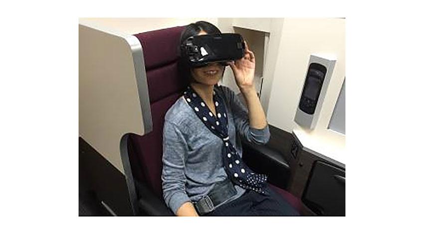 JAL、KDDIなど4社、機内でのVRサービス実証実験を開始