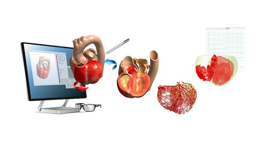 富士通、心臓シミュレータのデータをVRで立体的に表示:東大医学部の講義で活用