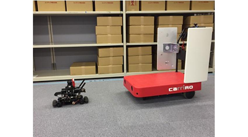 ZMPと凸版印刷、ロボットとRFIDを組み合わせた無人棚卸ソリューションを公開