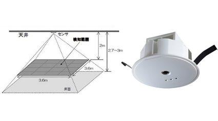 オムロンと日建設計、人の数を高精度に検出するサーモパイル型人感センサーを開発、東京電機大学へ1,000台納入