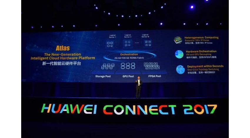 ファーウェイ、2つの原動力でデジタル化を推進する「コネクション+クラウド」戦略と、新世代のインテリジェントなクラウドハードウェアプラットフォーム「Atlas」を発表