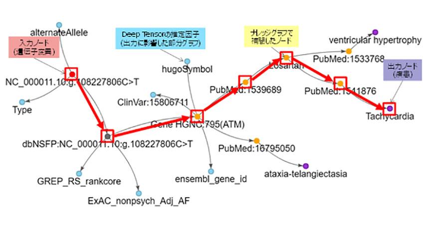 富士通研究所と富士通、Deep Tensorとナレッジグラフの融合でAIの推定理由や根拠を説明する技術を開発