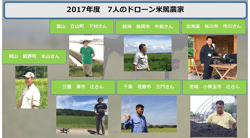 ドローン・ジャパン、有機栽培の「ドローン米」を料理店HITOHANAで提供開始
